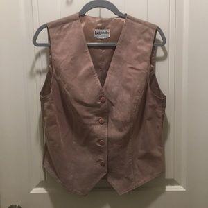 Bagatelle leather vest